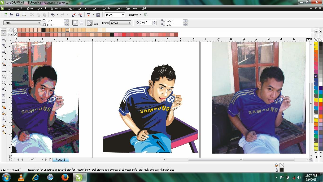 Download Format CDR CorelDraw Untuk Belajar Membuat Gambar Vektor