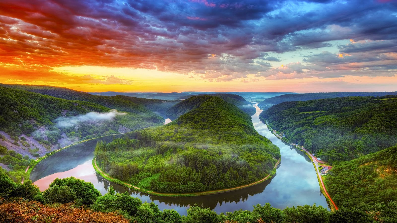 Wallpaper pemandangan alam natural kualitas hd untuk for Foto hd desktop